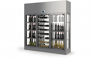 Винный шкаф Enofrigo WINE LIBRARY 3P WALL H260 P60