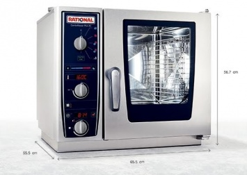 Пароконвектомат RATIONAL CombiMaster Plus XS (B609100.01.202)